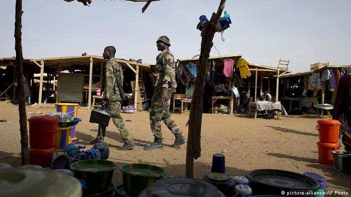 Markt Gao Afrika Mali (picture-alliance/AP Photo)