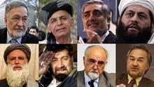 PT Präsidentschaftskandidaten für die Wahlen in Afghanistan 2014