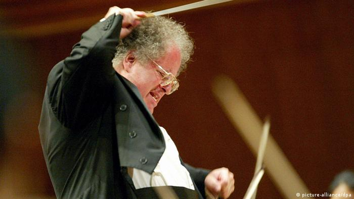 James Levine Metropolitan Orchestra Archiv 2002 (picture-alliance/dpa)