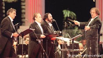 James Levine Olympiastadion in München Archiv 1996 drei Tenöre