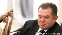 1184879 Russia. 07/20/2012 July 20, 2012. Deputy General Secretary of the Eurasian Economic Community Sergei Glazyev, left, and President of the Russian Chamber of Commerce and Industry Sergei Katyrin at a meeting of the Presidential Economic Council, in Novo-Ogaryovo. Michael Klimentyev/RIA Novosti