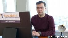 Ukraine Journalist Dmytro Hnap Hromadske-TV