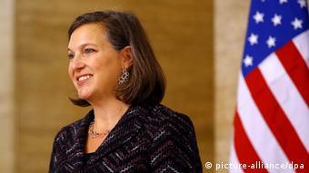 ABD Dışişleri Bakanlığı'nın Siyasi İşlerden Sorumlu Müsteşarı Victoria Nuland