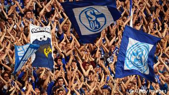 Fans of Bundesliga club Schalke. Photo: Getty