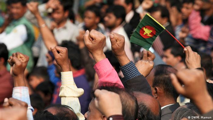 Bangladesch Erster Jahrestag der Shahbagh Bewegung 2014