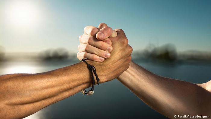 Symbolbild Solidarität