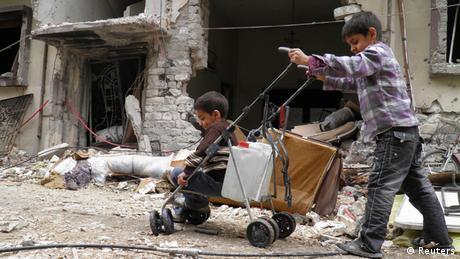 Syrien Homs Bevölkerung 02.02.2014