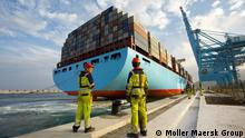 Containerschiff Elly Maersk der Maersk Line