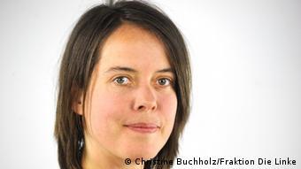 Sol Parti'li vekil Christine Buchholz