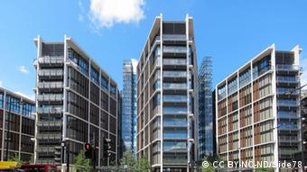 Комплекс One Hyde Park, де, за даними Guardian, Рінат Ахметов придбав рекордно дорогу квартиру