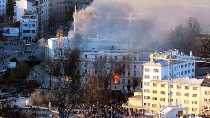 Dio Arhiva Bosne i Hercegovine, koji se nalazi u zgradi Predsjedništva BiH, danas je izgorio. Nestala je najvrijednija i neprocjenjiva arhivska građa, potvrdio je Andrej Rodinis, savjetnik u Arhivu BiH.