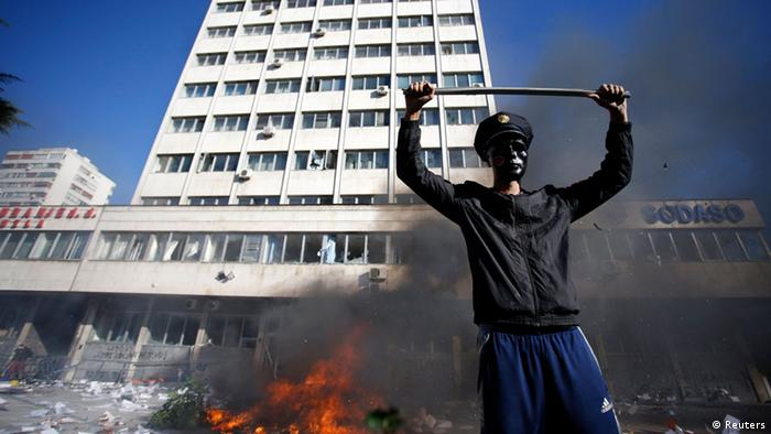 Proteste gegen die Regierung in Bosnien 07.02.2014