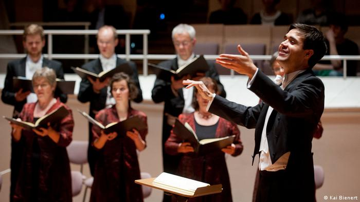 Manuel Pujol, First prize winner at the German Choral Conductor Competition