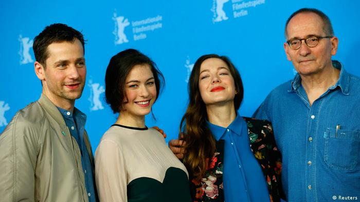 At Berlinale 2014 Press conference with Dominik Graf (r.) and his crew Photo: REUTERS/Thomas Peter