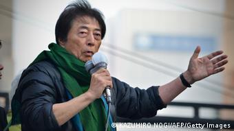 Morihiro Hosokawa Wahlen Tokio Japan