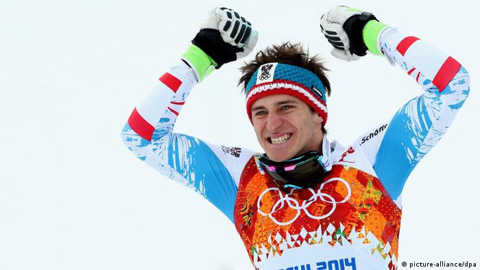 Olympia Winterspiele in Sotschi 204 Ski Alpin Abfahrt Matthias Mayer
