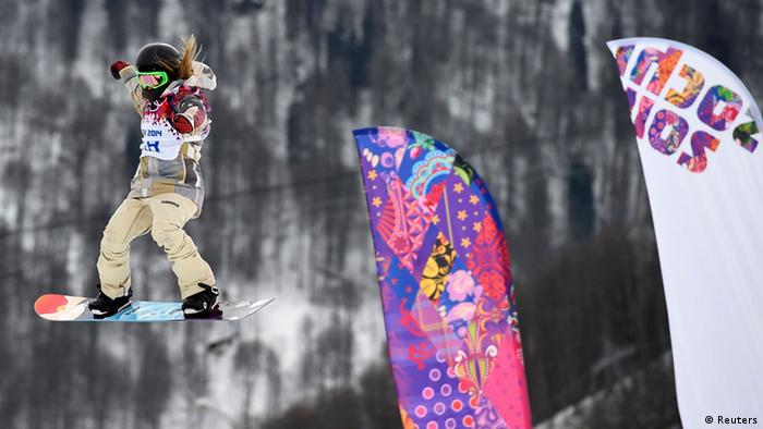 Olympia Winterspiele in Sotschi 2014 Slopestyle Jamie Anderson