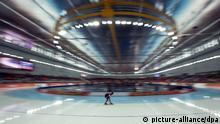 Olympia Winterspiele in Sotschi 2014 Eisschnelllauf Claudia Pechstein