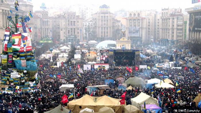 Ukraikian protest, Independence Square, 09.02.2014