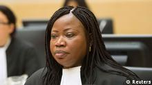 Bosco Ntaganda Prozess ICC Den Haag 10.01.2014 Bensouda