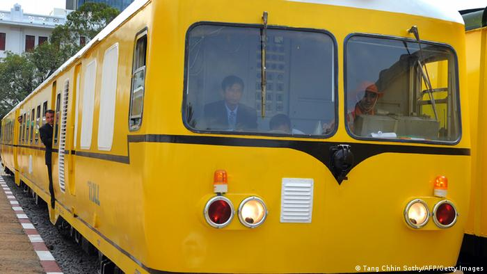 Personenzug in Kambodscha