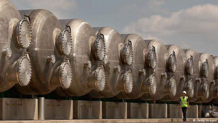 Desalination plant in England