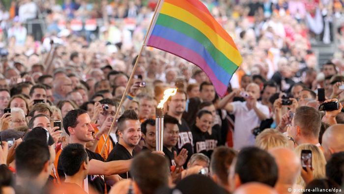 На соревнованиях Gay Games в Кёльне в 2010 году (фото из архива)