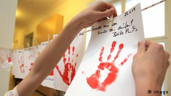 Red Hand Day draws attention to the fates fo child soldiers