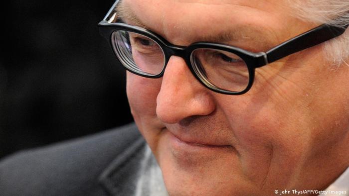 Міністр закордонних справ Німеччини Франк-Вальтер Штайнмайєр
