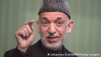 Afghanischer Präsident Hamid Karsai (Foto: AFP/Getty Images)