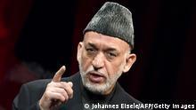 Afghanischer Präsident Hamid Karzai