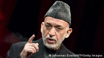Afghan President Hamid Karzai (Photo: JOHANNES EISELE/AFP/Getty Images)