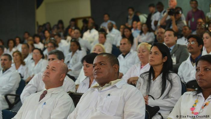Cuban doctors in Brazil