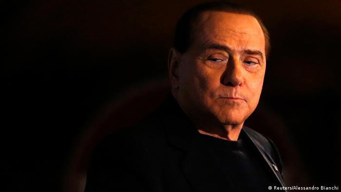 Italy's former Prime Minister Silvio Berlusconi REUTERS/Alessandro Bianchi/Files (ITALY -