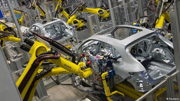 Фабрика Porsche в Лейпциге
