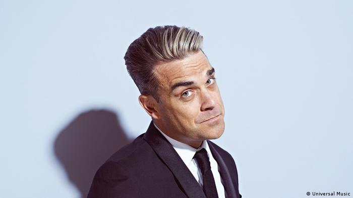 Sänger Robbie Williams (Universal Music)