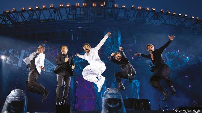 Take That live performance in 2011 (Photo: Universal Music)