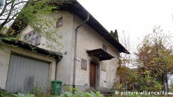 An exterior view of Gurlitt's home in Salzburg