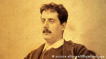 A portrait of Giacomo Puccini (c) picture-alliance/Effigie/Leermage