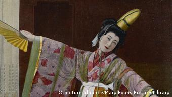 Japanese stage actress Sada Yacco (c) Mary Evans Picture Library