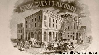 The Ricardi publishing house (C) picture-alliance/akg