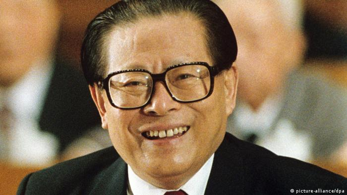 China Präsident Jiang Zemin (picture-alliance/dpa)