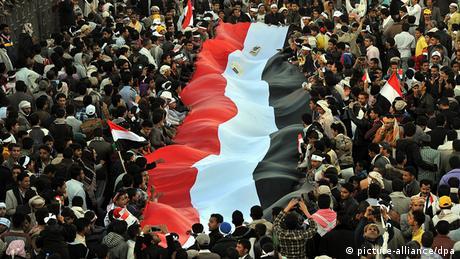 Jemen Demonstration in Sanaa