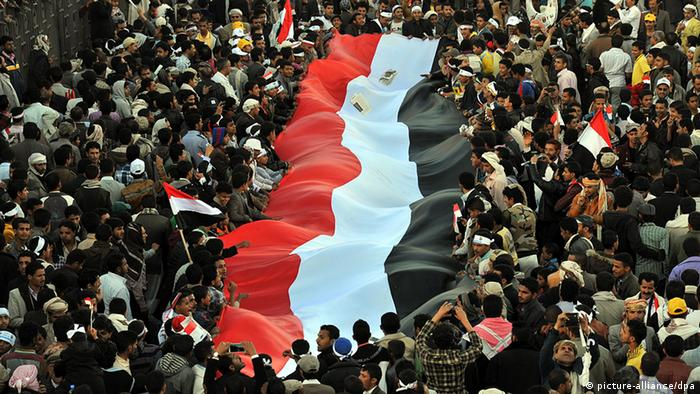 Jemen Demonstration in Sanaa (picture-alliance/dpa)