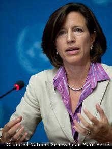 UN-Sprecher Syrien Friedensgespräche Melissa Fleming
