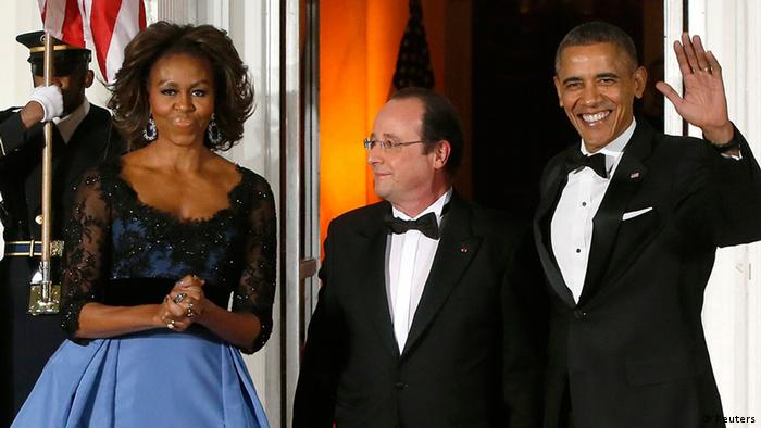 Francois Hollande Staatsbesuch in den USA