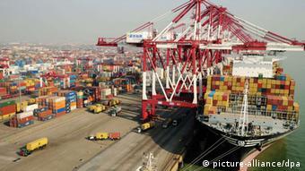 Symbolbild Export China