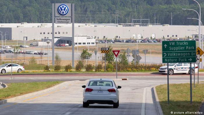 USA VW Werkseröffnung Chattanooga (picture alliance/dpa)