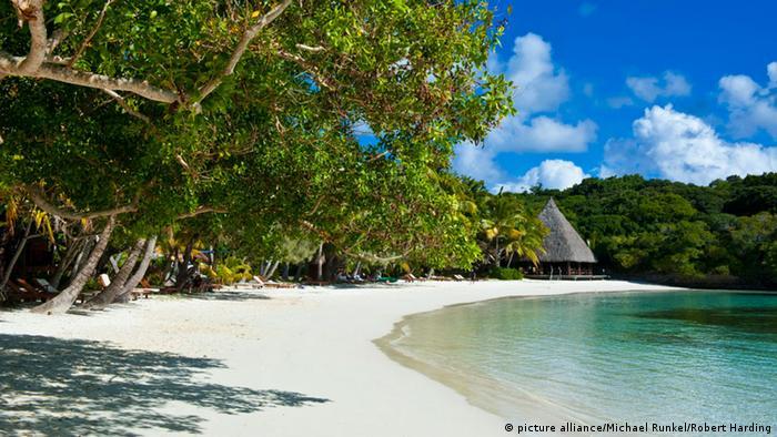 Strand in Neukaledonien