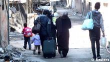 Syrien - Evakuierung von Zivilisten aus Homs 09.02.2014